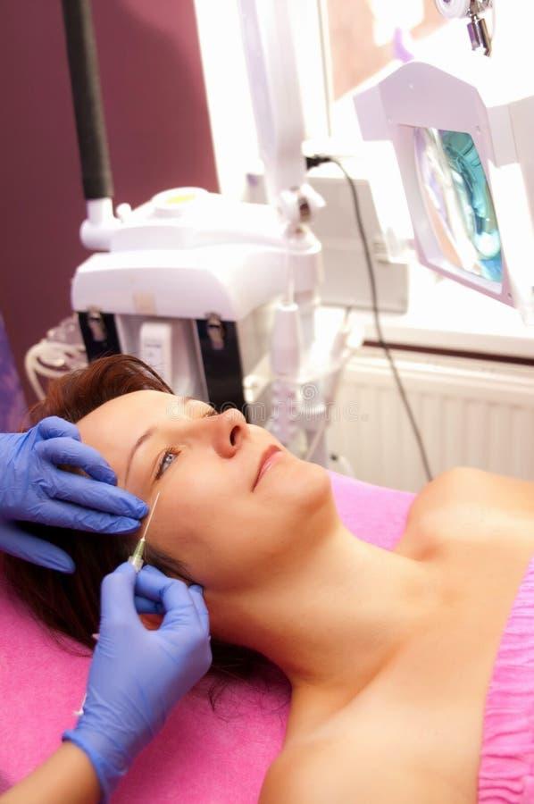 Tratamento facial imagem de stock