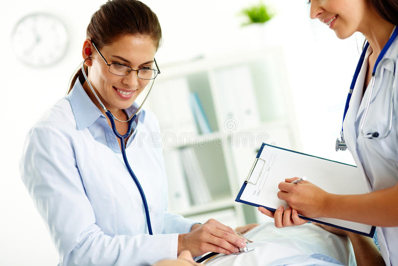 Tratamento médico imagem de stock royalty free