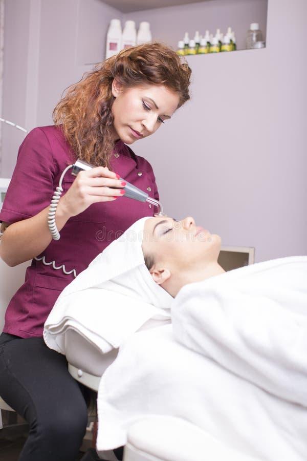 Tratamiento cosmético foto de archivo