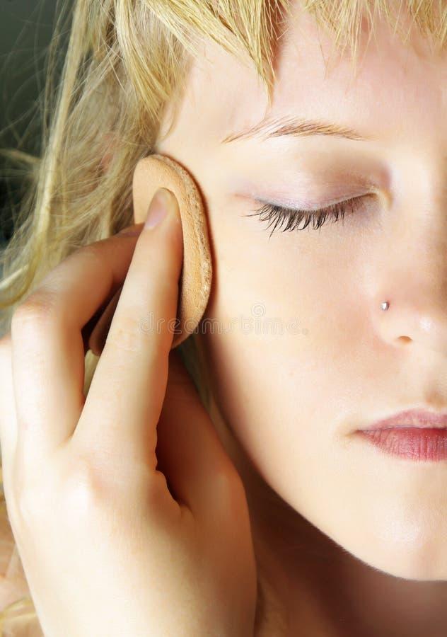 Tratamiento facial imagenes de archivo