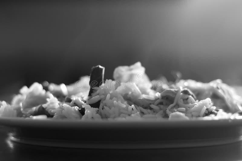 Tratar el alimento con vapor tailandés fotografía de archivo libre de regalías