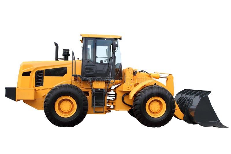 Trator amarelo foto de stock royalty free