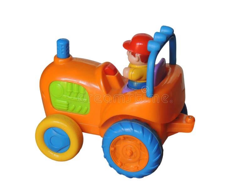 Trator do brinquedo fotografia de stock royalty free