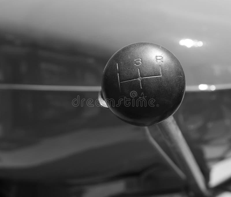 Trator Stickshift do vintage imagem de stock