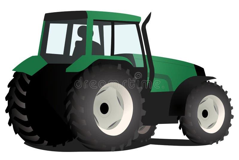 Trator verde