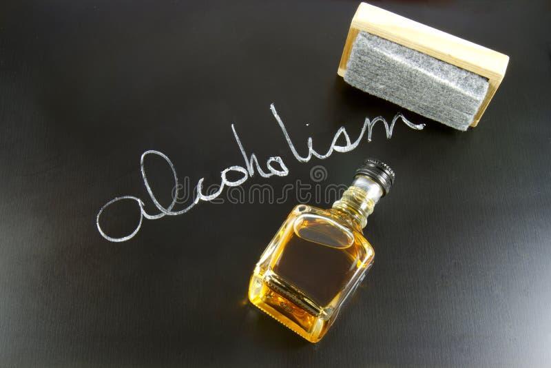 Trattamento dell'alcolismo immagine stock