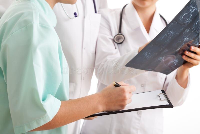 Trattamento medico di determinazione fotografie stock