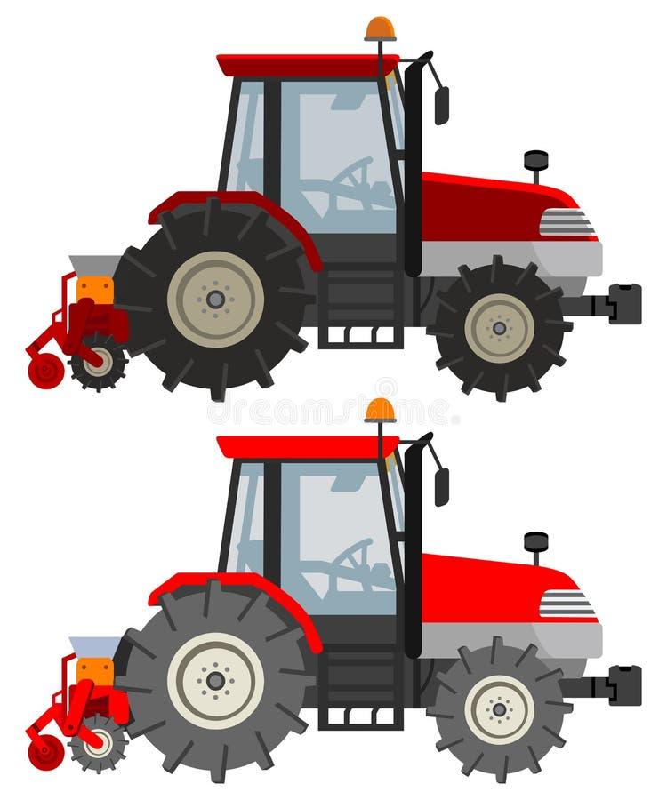 Trattore agricolo illustrazione vettoriale