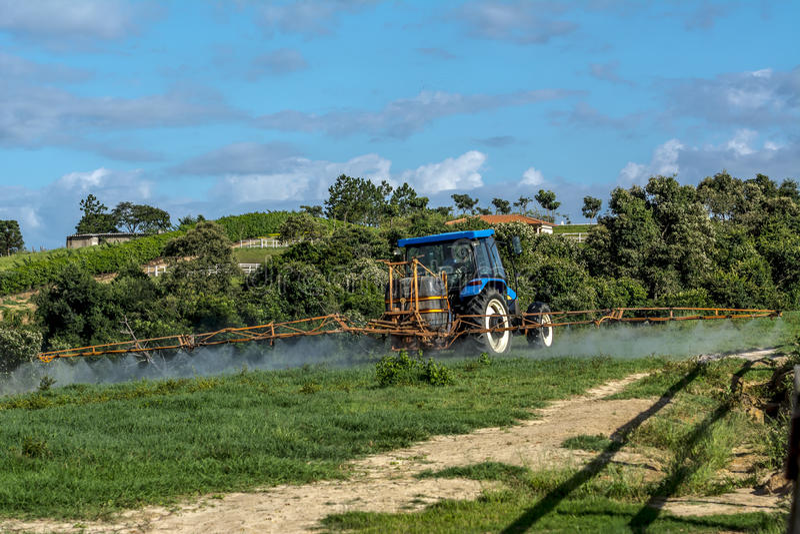 Trattore agricolo fotografia stock libera da diritti