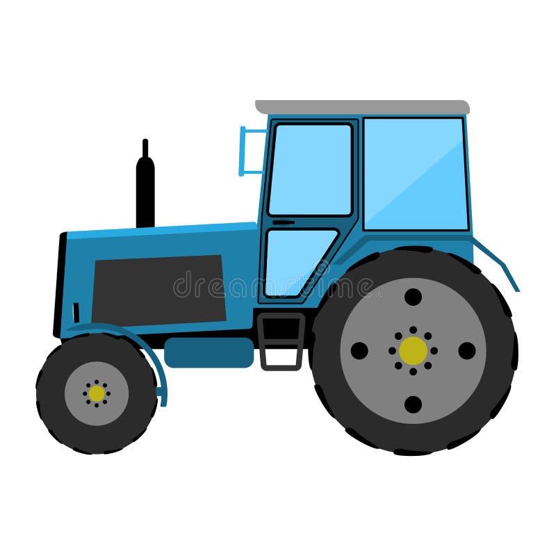 Trattore a ruote illustrazione di stock