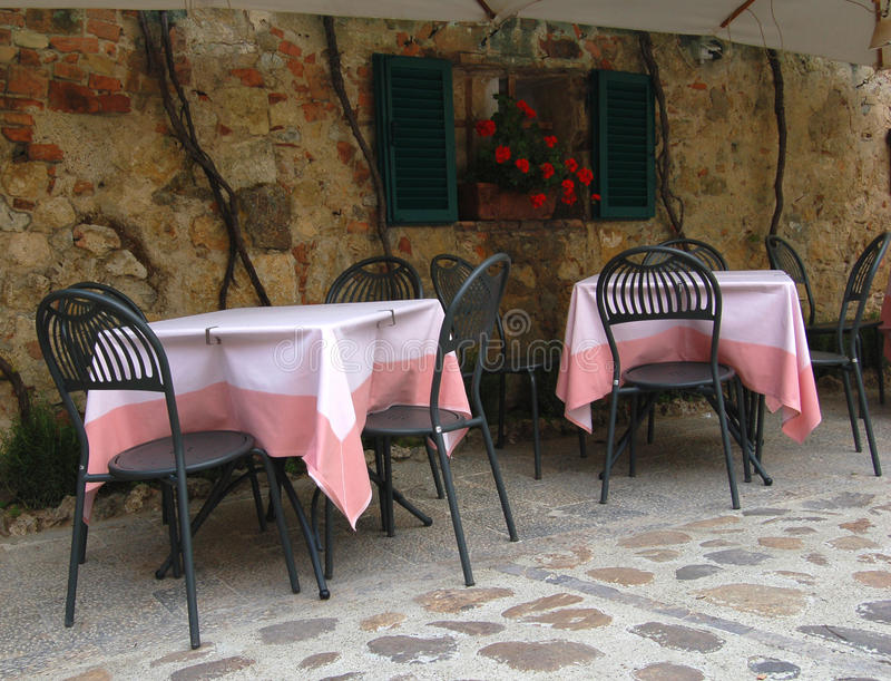 Trattoria royalty free stock photography