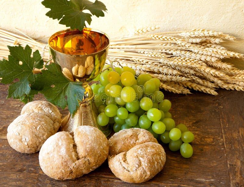 Trauben für heiligen Wein stockfotografie