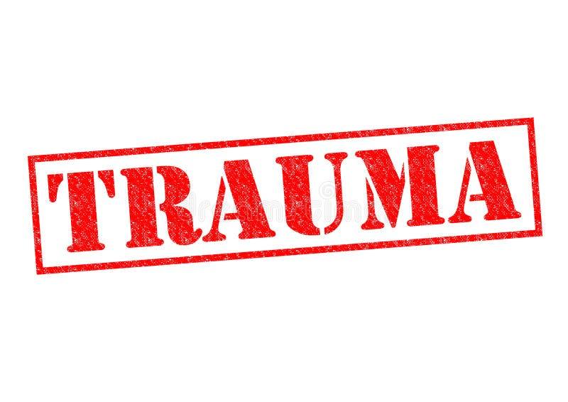 trauma royaltyfri illustrationer