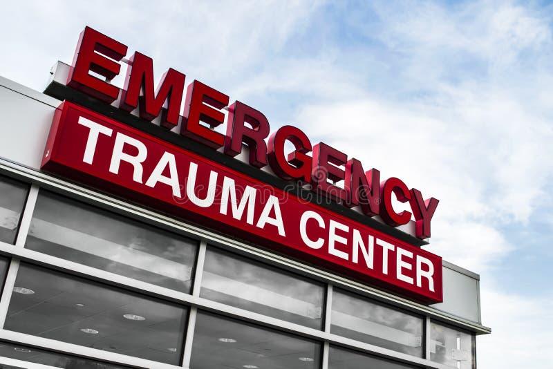 Traumazentrum stockfoto