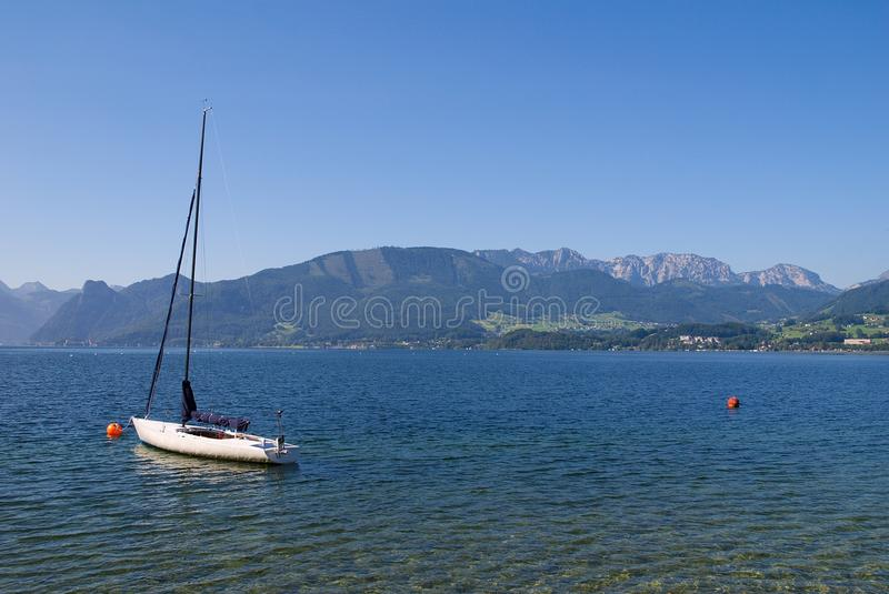 Download Traunsee stock image. Image of austria, landscape, traunsee - 26374313