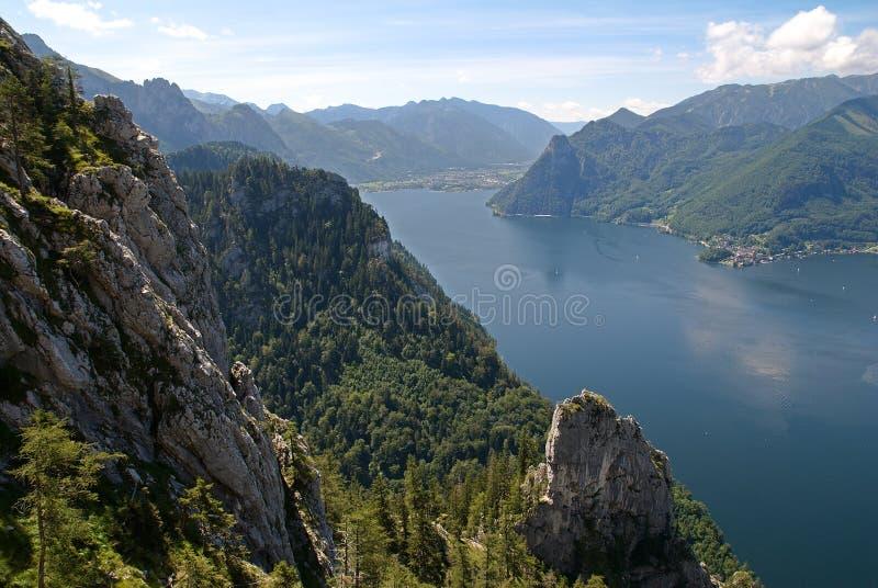 Download Traunsee stockfoto. Bild von wetter, leute, österreich - 26374350