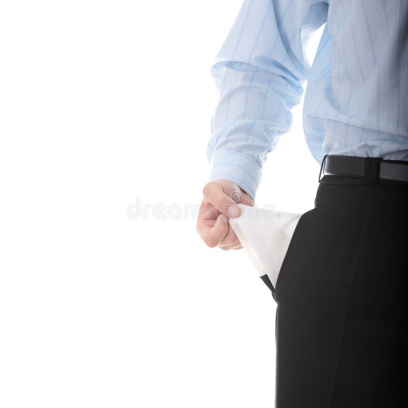 Traurig und brach Geschäftsmann stockbilder
