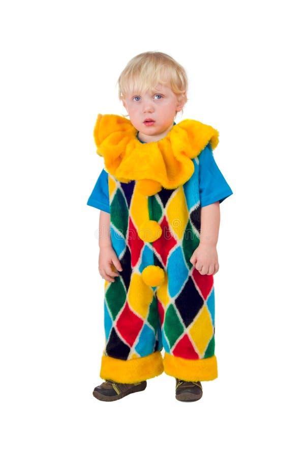 Trauriger Clown lizenzfreie stockfotografie