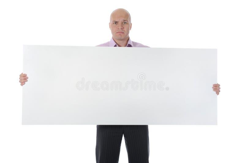 Trauriger Geschäftsmann lizenzfreies stockfoto