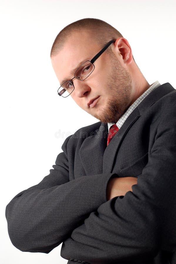Trauriger Geschäftsmann stockbilder