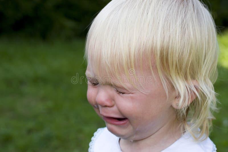 So trauriges Mädchen stockbilder