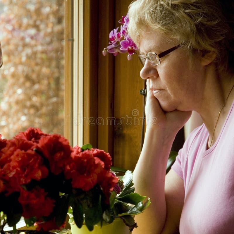 Traurigkeit stockfoto