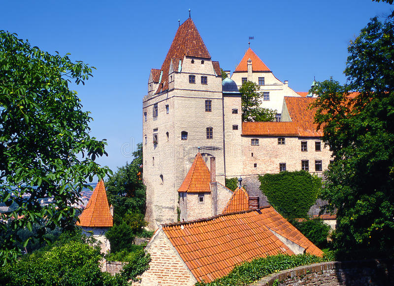 Trausnitz royalty free stock image