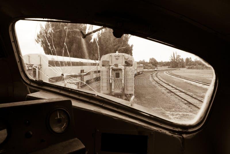 Download Ferrocarril Visto De La Locomotora Vieja Foto de archivo - Imagen de recorrido, visto: 7285262