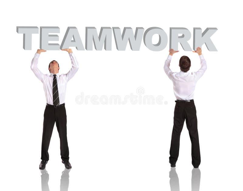 Travail d'équipe image stock