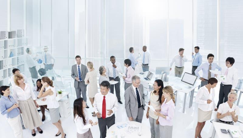 Travail d'équipe Team Collaboration Colleagues Corporate Concept photographie stock