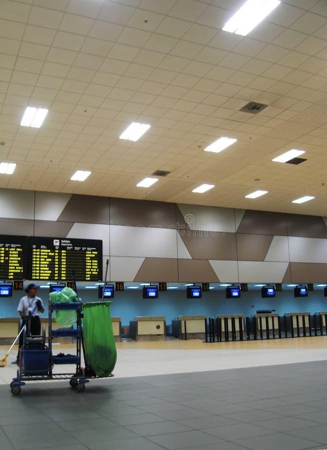 Travail d'aéroport photographie stock