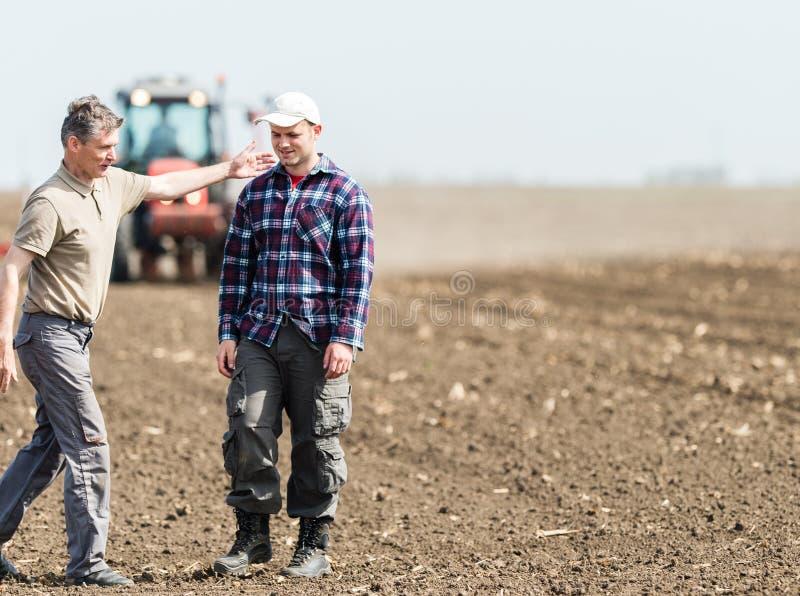 Travail dans l'agriculture photo libre de droits