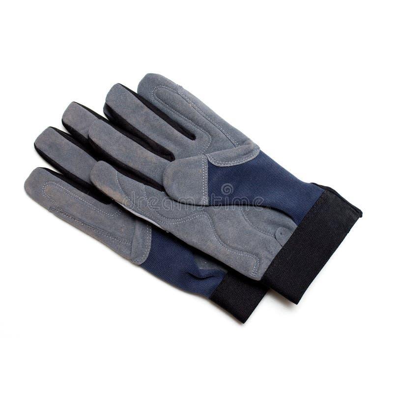 travail de gants photographie stock libre de droits