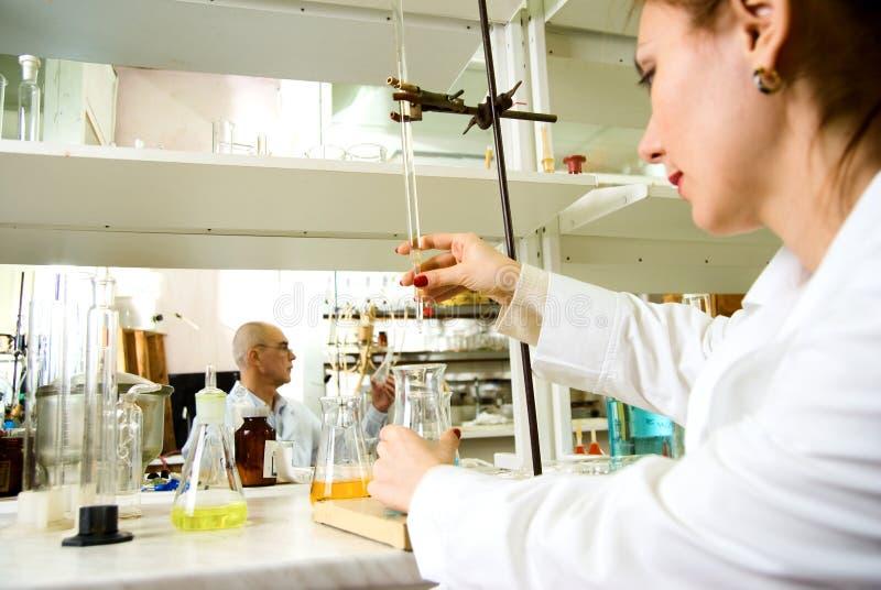 Travail de laboratoire photos stock