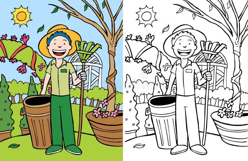 Travail de yard illustration libre de droits