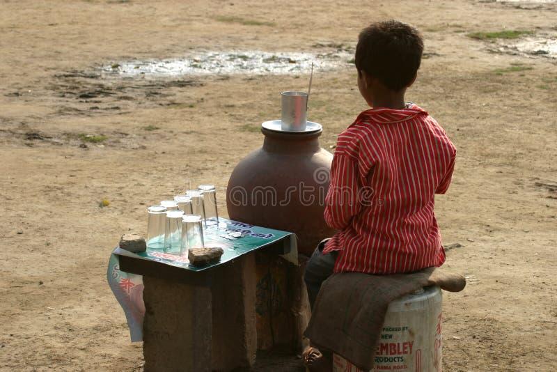 Travail des enfants en Inde image libre de droits