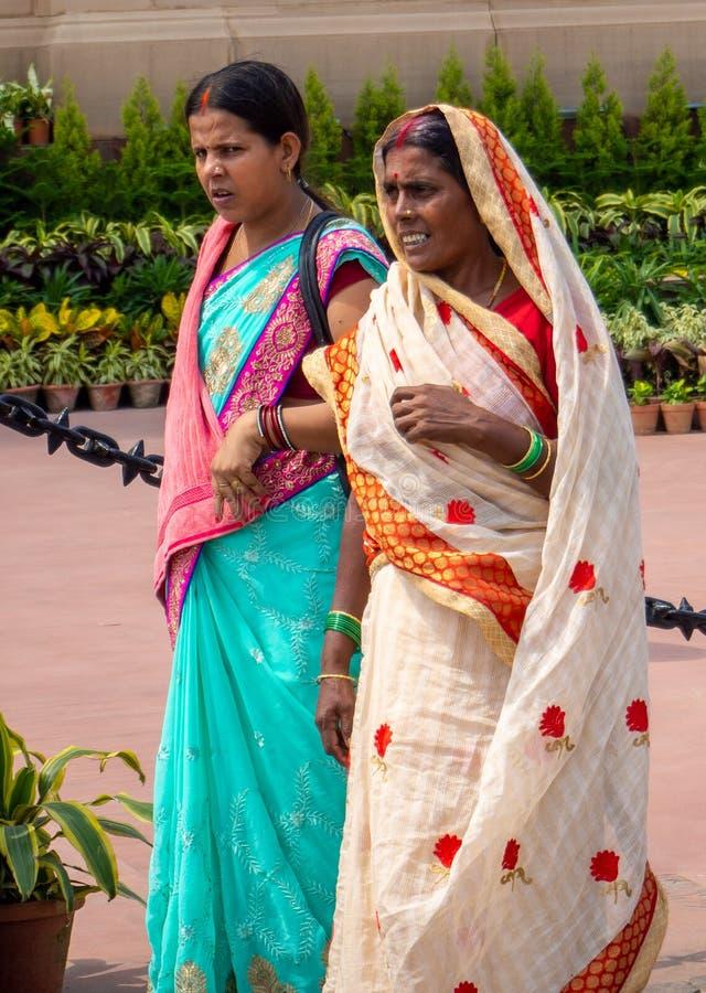 Travail du ` s de femmes dans l'Inde image libre de droits