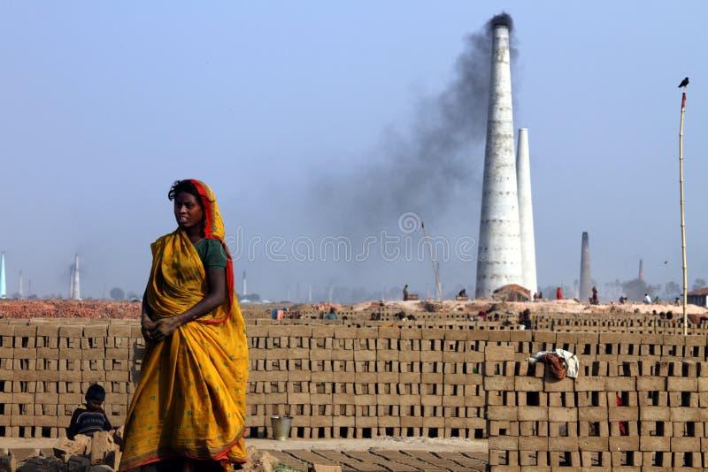 Travail dur en Inde photographie stock libre de droits