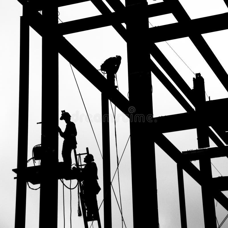 Travail en acier photo libre de droits