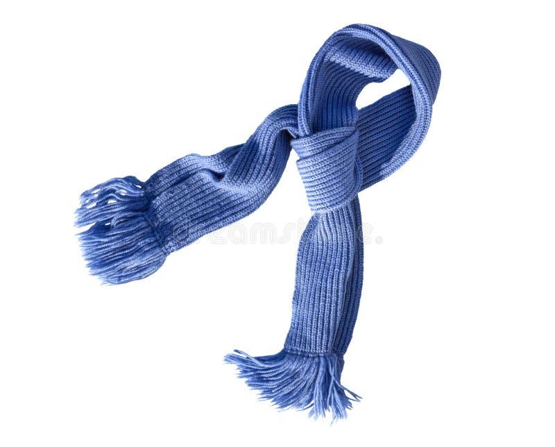 Travail manuel tricoté par écharpe Écharpe de laine colorée photos libres de droits