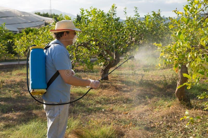 Travailleur agricole photos stock