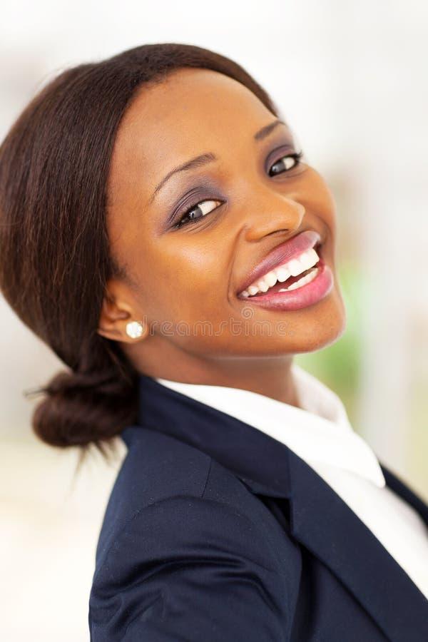 Travailleur d'entreprise heureux photo libre de droits