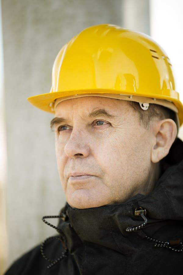 Travailleur de la construction Portrait photos libres de droits