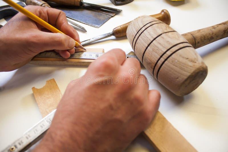 Travailleur du bois photo stock