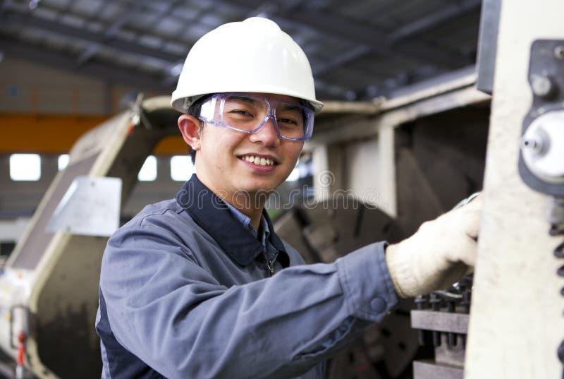 Travailleur industriel photo libre de droits