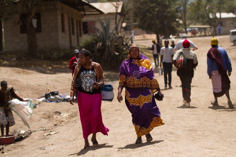 Travailleurs de Masia image libre de droits