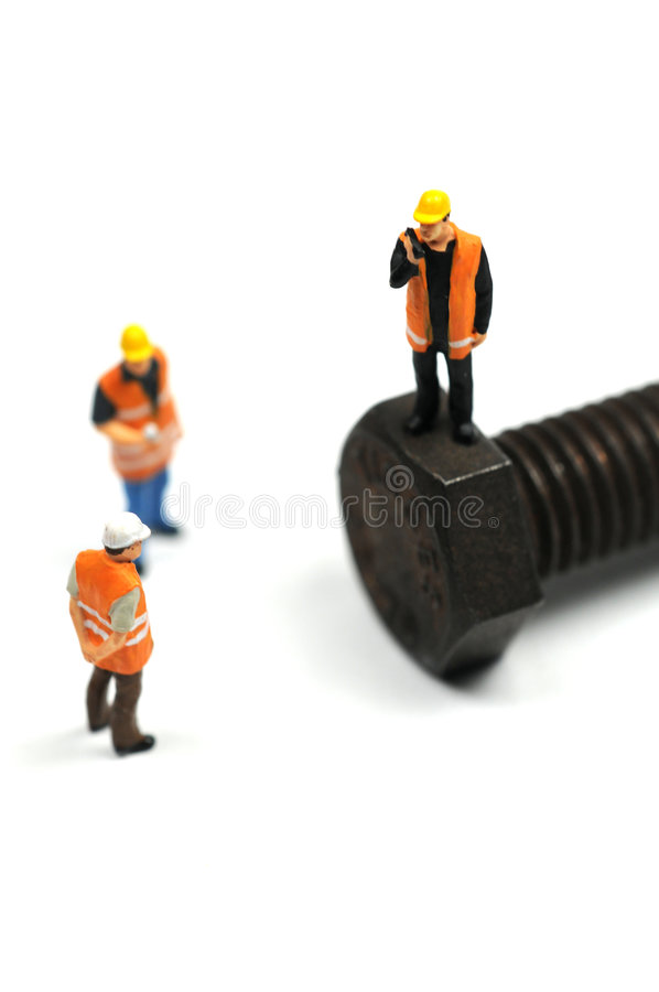 Travaux de construction à faire image libre de droits