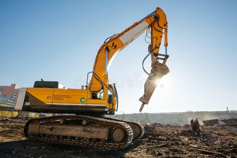 Travaux de construction photographie stock libre de droits