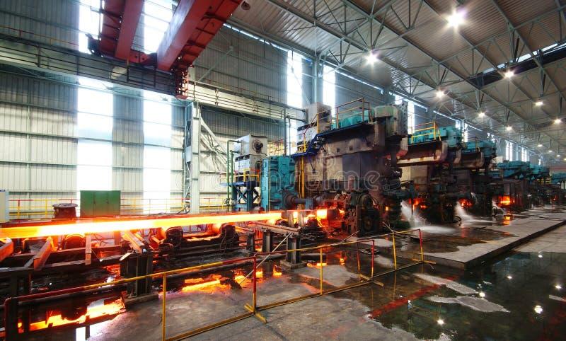 Travaux de fer de sidérurgie photographie stock libre de droits