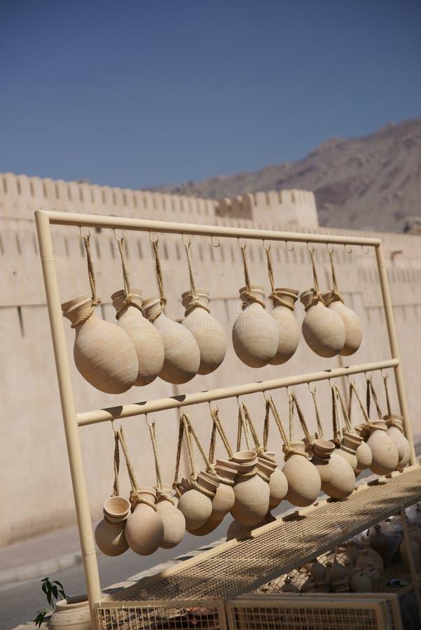 Travaux manuels traditionnels omanais photographie stock